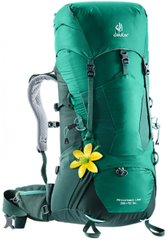 Рюкзак Deuter Aircontact Lite 35+10 SL колір 2231 alpinegreen-forest